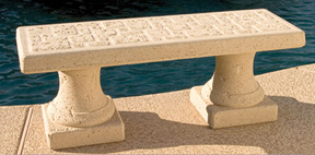 Tuscany Outdoor Concrete Benches