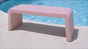 Scottsdale Outdoor Concrete Benches