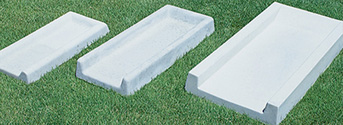 Concrete Landscape Splash Blocks